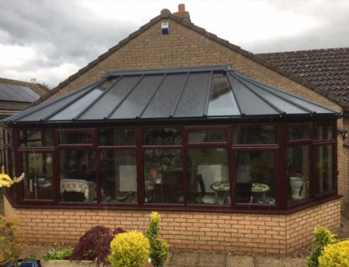 Conservatory with Warmroof in St Neots