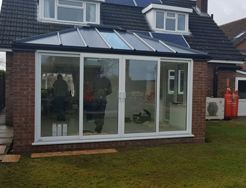 Conservatory fitted in Little Staughton with WARMroof