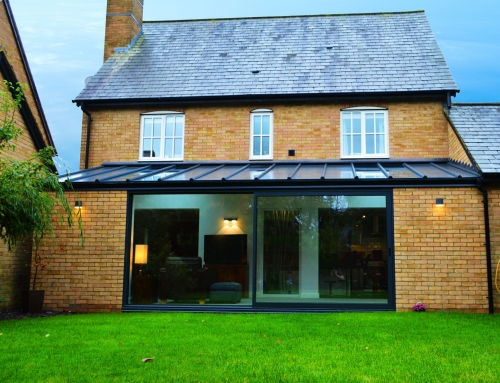 Contemporary Extension In Cambourne